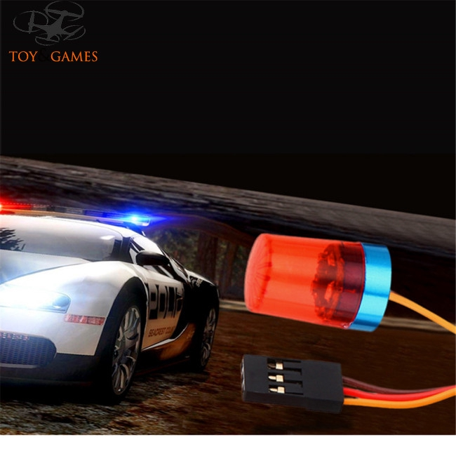 AX-510Y RC Car Parts Multi-function LED Light Lamp Flashing Fast-slow Rotating Mode for 1/10 1/8 RC