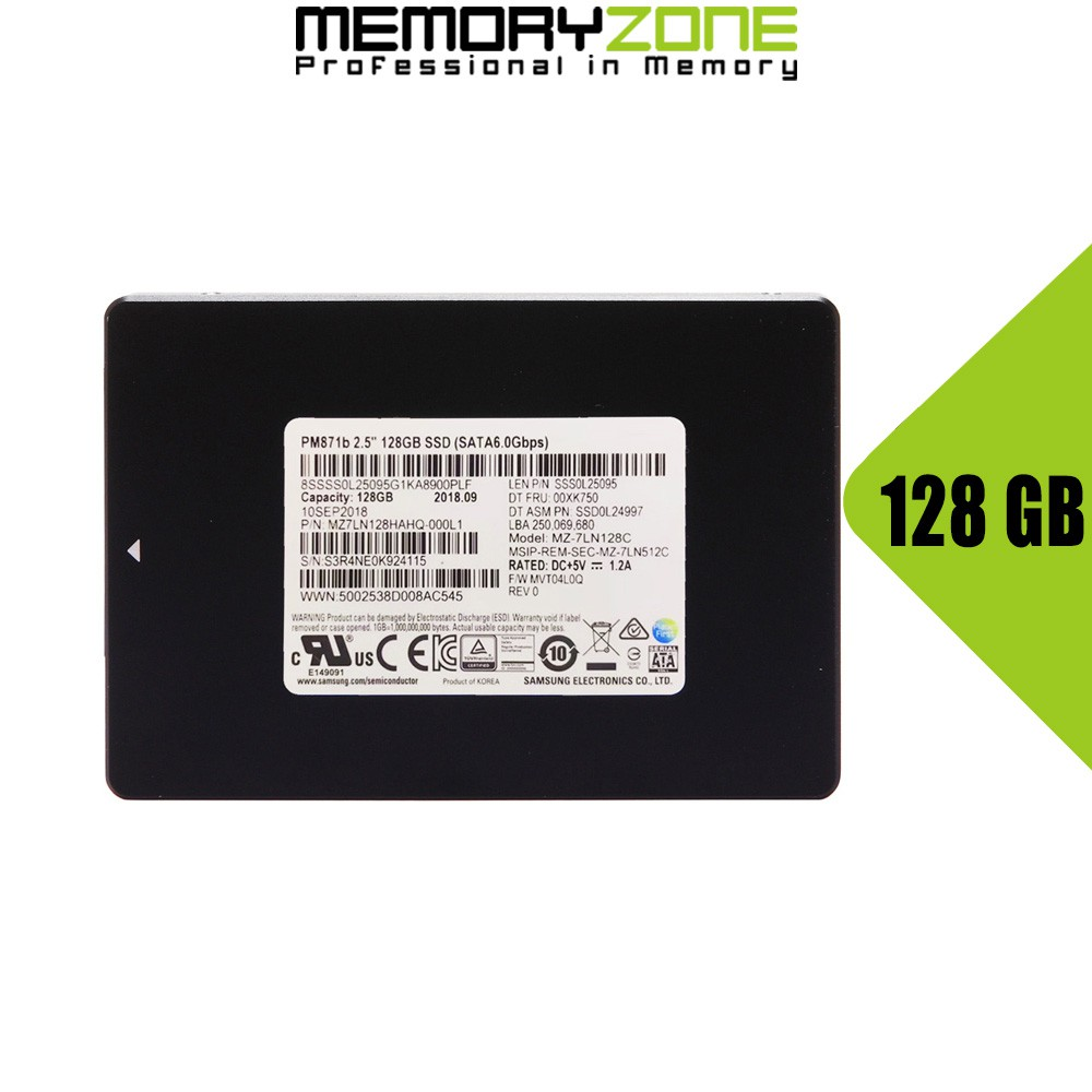 Ổ cứng SSD Samsung PM871b 128GB 2.5-Inch SATA III MZ-7LN128C