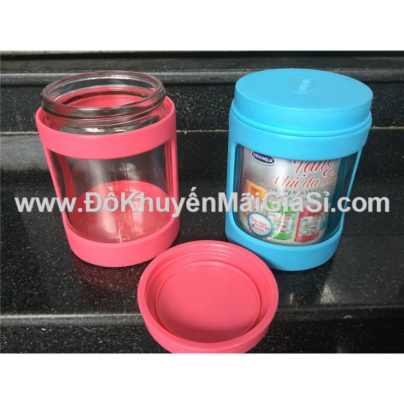 Hũ thủy tinh đa năng Vinamilk bọc nhựa nắp vặn - Kt: (8 x 12) cm. - 3286930 , 732868871 , 322_732868871 , 11000 , Hu-thuy-tinh-da-nang-Vinamilk-boc-nhua-nap-van-Kt-8-x-12-cm.-322_732868871 , shopee.vn , Hũ thủy tinh đa năng Vinamilk bọc nhựa nắp vặn - Kt: (8 x 12) cm.