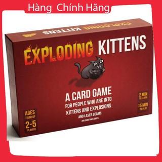 [Giảm giá] Combo Mèo nổ Exploding Kittens cơ bản + 3 bản mở rộng