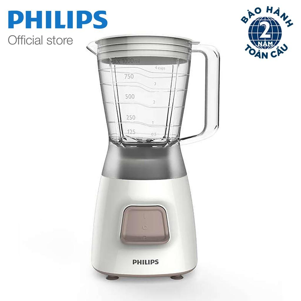 Máy xay sinh tố Philips HR2051 (Trắng)