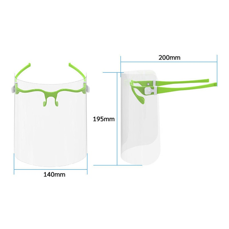 biu Oversized Shield Full Face Mask High Quality Safety Kitchen Cooking Anti-Oil Splash Clear Face Cover Mask Protector Kitchen Accessories...