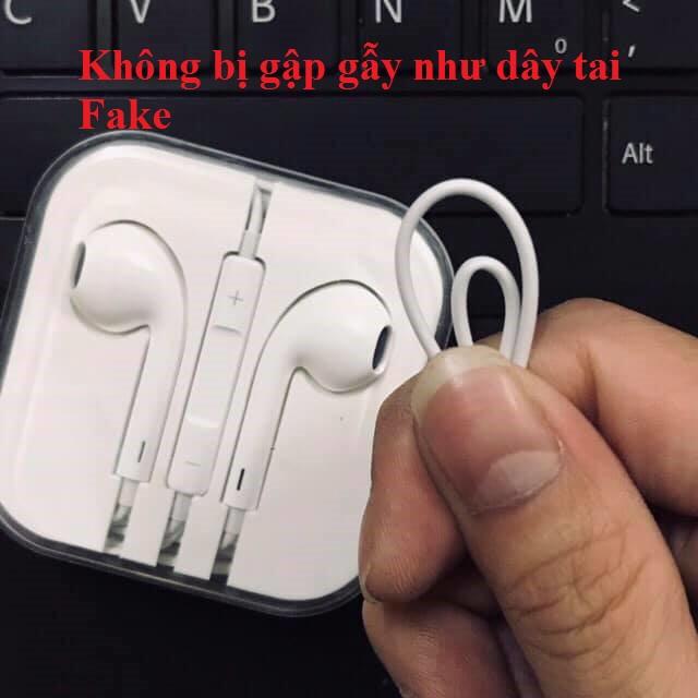 Tai nghe Iphone 5/5s/6/6s/6P/6sP Chính Hãng - BH 12 tháng