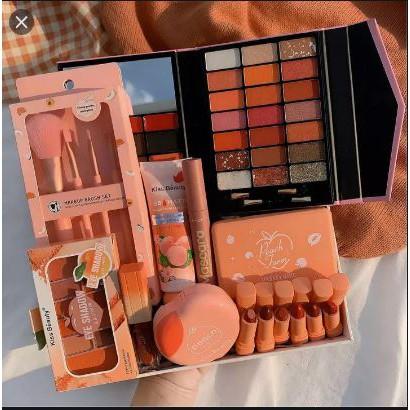 Bộ trang điểm 17 món peach kissbeauty chuyên nghiệp