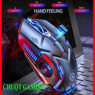 [ GIÁ SỐC ] Chuột máy tính G5 LED 7 màu cực đẹp, DPI khủng 3200, 6 nút, chơi game or làm việc văn phòng đều chất BH 6T