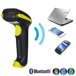 Máy quét mã vạch không dây - Súng bắn mã vạch kết nối Bluetooth/ 2.4G YHD-3100(1D) hỗ trợ Kiểm Hàng Hóa