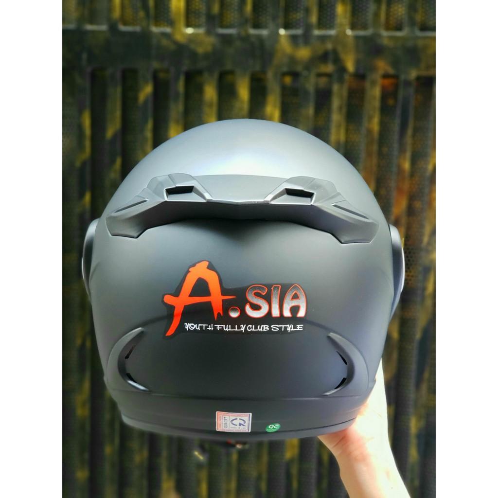 Nón bảo hiểm 3/4 có kính Asia M168 và Asia M115 - Chính hãng bảo hành 12 tháng