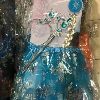 Bộ combo hoá trang công chúa Elsa