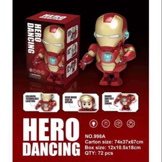Lồng đèn Iron Man- lồng đèn trung thu dùng pin