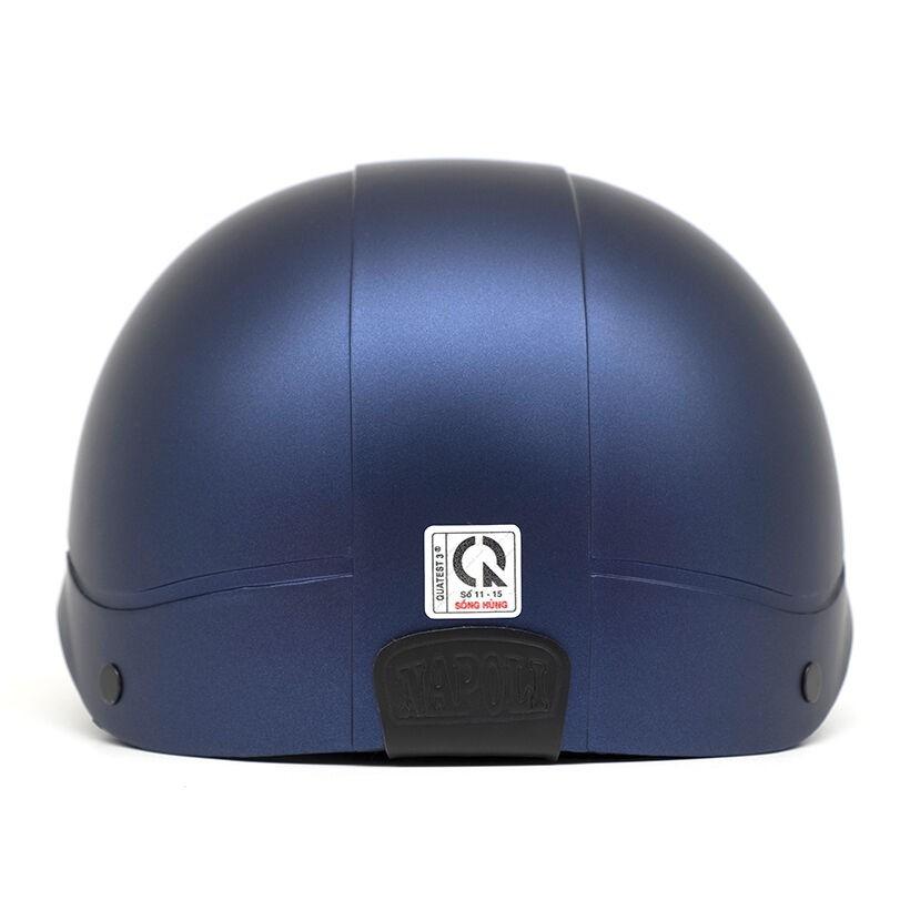 Mũ bảo hiểm nửa đầu Napoli N205 Freesize (Xanh đen)
