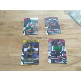 Card Kamen Rider Decade, Decade Final Atack,Amazon Omega, Grease
