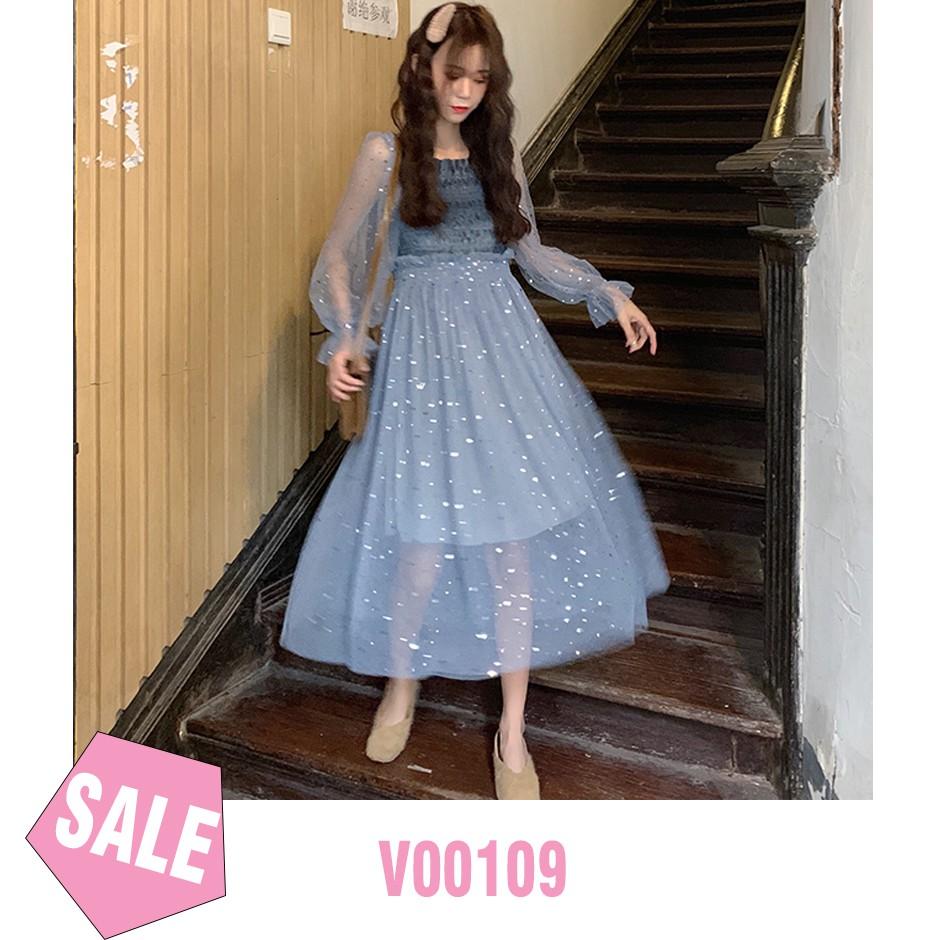 ( ẢNH THẬT ) Váy Công Chúa Xòe 2 Lớp BLINK BLINK - ORDER TAOBAO - V00109