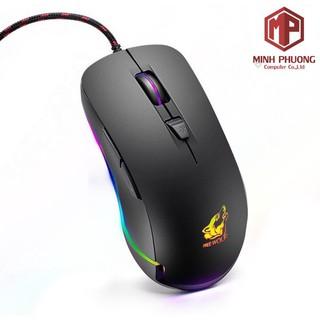 CHUỘT CHƠI GAME LED RGB FREE WOLF V6 (hàng chính hãng)