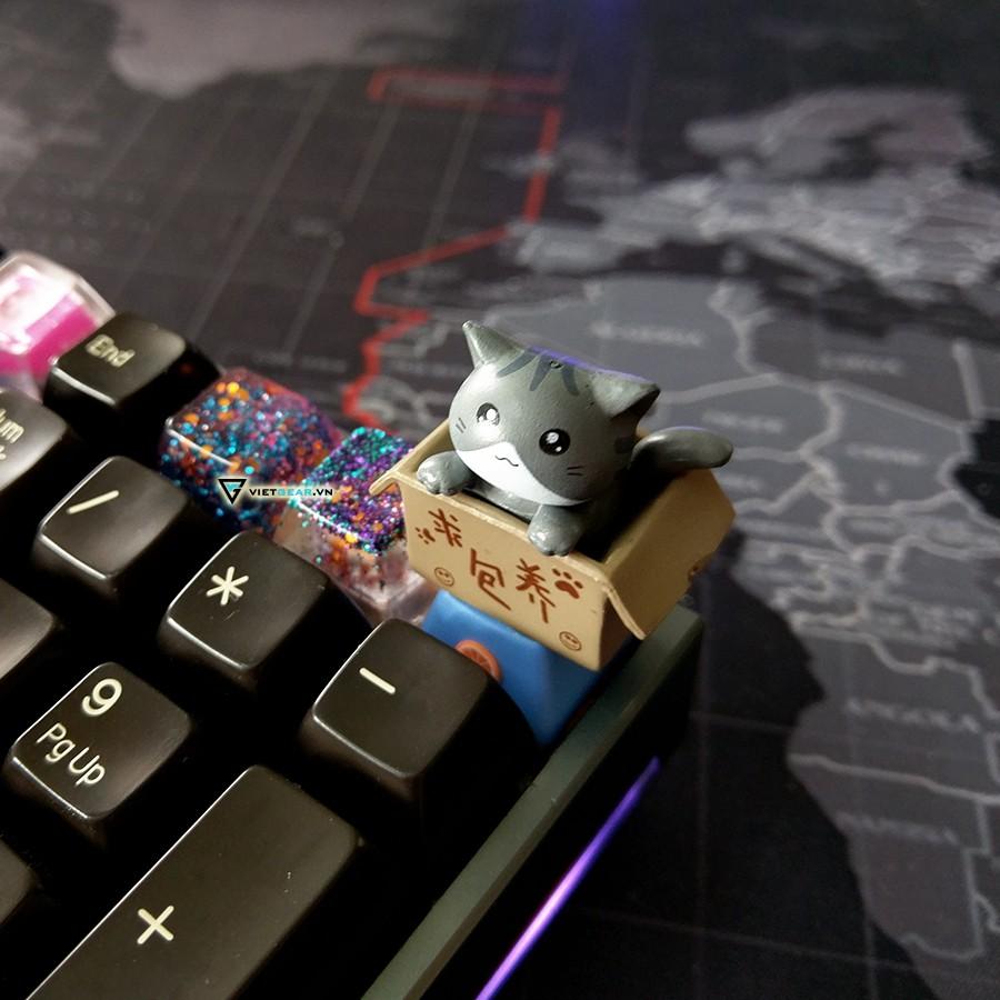 Nút bàn phím cơ, keycap Mèo cute - 10069897 , 1084779389 , 322_1084779389 , 99000 , Nut-ban-phim-co-keycap-Meo-cute-322_1084779389 , shopee.vn , Nút bàn phím cơ, keycap Mèo cute
