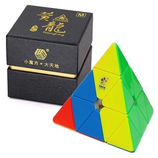 Rubik Biến Thể 4 Mặt – YuXin HuangLong Magnetic Pyraminx (Hãng Mod M)
