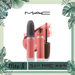 [ ] Son Kem Lì MAC Powder Kiss Liquid Lipcolour, BST Son Kem Mac Chính Hãng thumbnail