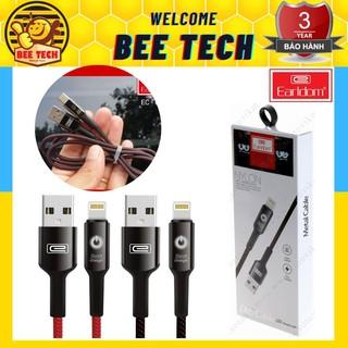 [Mã ELFLASH5 giảm 20K đơn 50K] Cáp sạc tự ngắt Earldom EC 063 cho iPhone/MicroUSB/Typec - Beetech