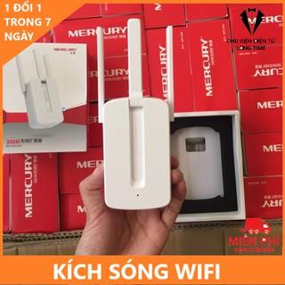 Kích sóng Wifi Mercusys 3 râu – Tầm bắt sóng khoẻ – Ổn định ( Cắm trực tiếp ổ điện )