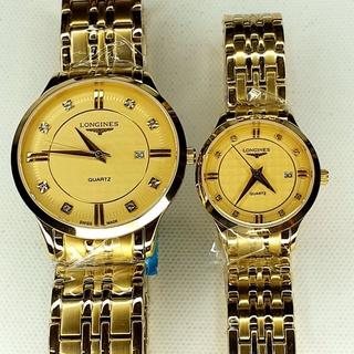 Đồng hồ đôi Nam - Nữ LONGINES kính sapphire chống nước thumbnail