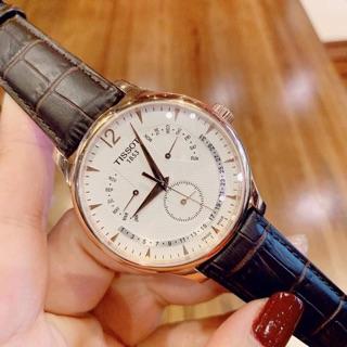 Đồng hồ nam Tissot Tradition Perpetual Calendar Quartz T063.637.36.037.00 (T0636373603700