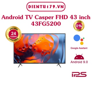 Smart Tivi Casper 43 inch 43FG5200 - BH 24 tháng thumbnail