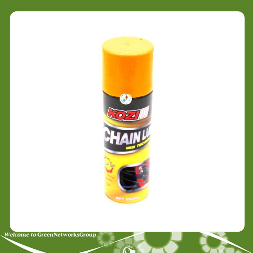 Chai xịt bôi trơn bảo dưỡng sên Kozi Chain Lube 250ml - 2618422 , 1158428578 , 322_1158428578 , 159000 , Chai-xit-boi-tron-bao-duong-sen-Kozi-Chain-Lube-250ml-322_1158428578 , shopee.vn , Chai xịt bôi trơn bảo dưỡng sên Kozi Chain Lube 250ml