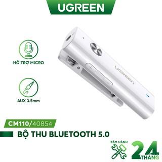 Thiết bị nhận Bluetooth 5.0 UGREEN CM110 40854 dùng cho tai nghe hỗ trợ MIC