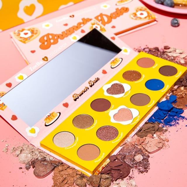 BEAUTYBOXHN [Bảng mắt Colourpop x Zoella Brunch Date Eyeshadow Palette]