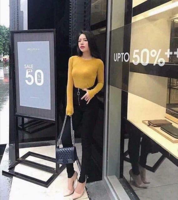Áo Trơn Len Xịn ( kèm ảnh thật & clip) | SaleOff247