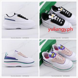 Puma Deva Reptile Wn s Casual Sneakers Nữ Giày thể thao Da bò Da bò Giày trắng