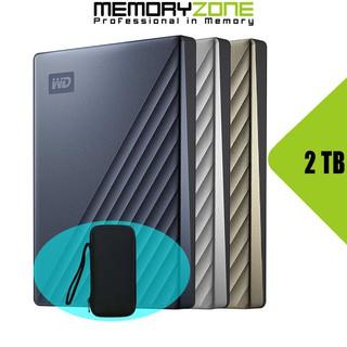 Ổ cứng di động Western Digital My Passport Ultra 2TB USB Type-C 3.0 - Bảo hành 3 năm tại WD Việt Nam