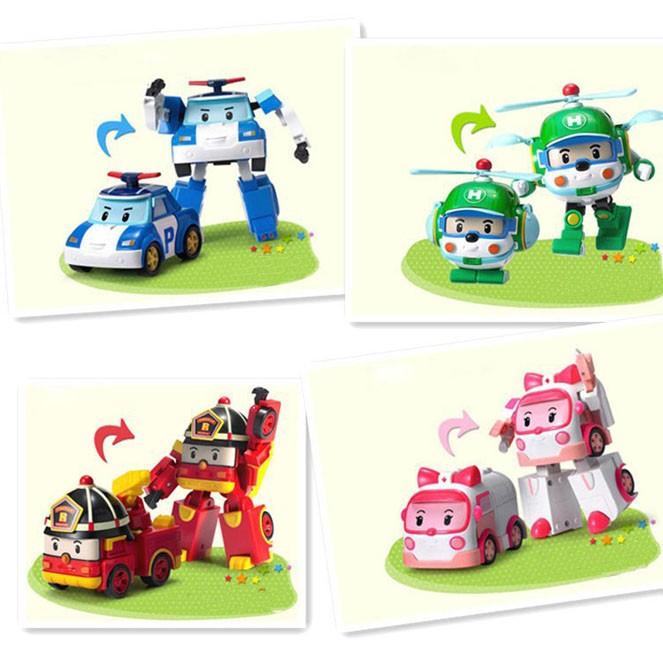 Bộ đồ chơi Robocar Poli và những người bạn