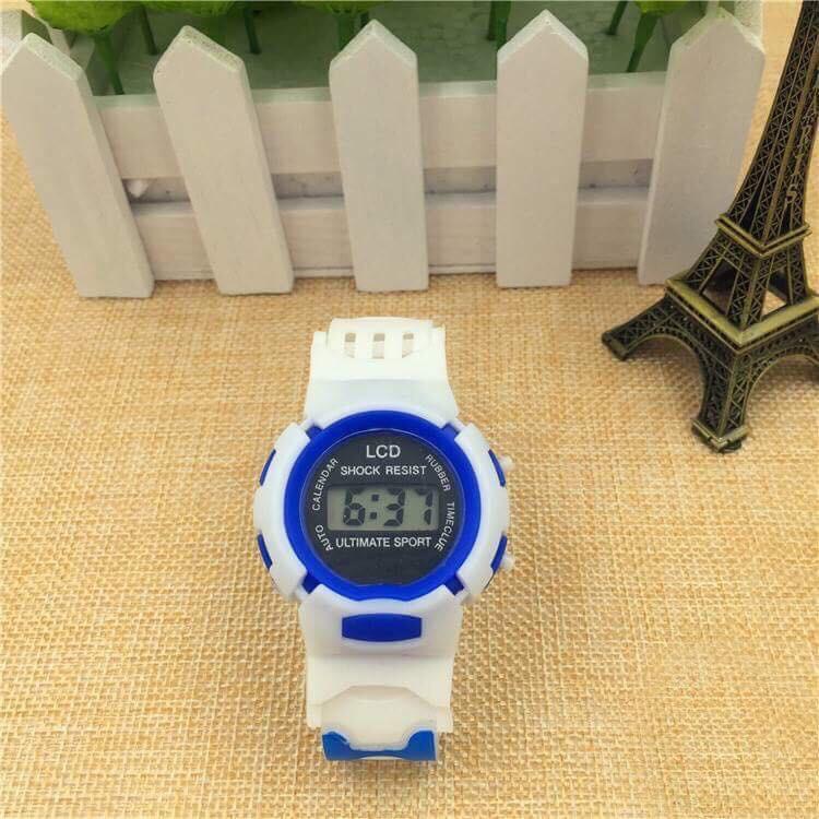 Đồng hồ trẻ em điện tử LCD thông minh đẹp Shock Resist DH75;