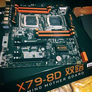 Bo mạch chủ huananzhi X79 Luxury X79 4D 8D X99 gaming TF X99 T8 X99 T8D X99 F8D socket 2011