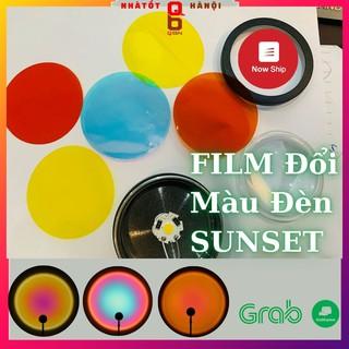 Kính Film đổi màu cho đèn rainbow , sunset dễ dàng lắp đặt sử dụng tiện dụng