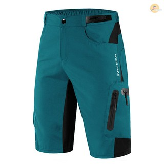 TOP Men Loose Fit Cycling Shorts Breathable Quick Dry MTB Bike Shorts Outdoor Sports Running Biking Riding Fitness Casua