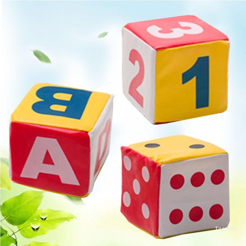 Top Parent-child Interactive Dots Numbers Letters Pattern Dice Kid Enlightenment Toy