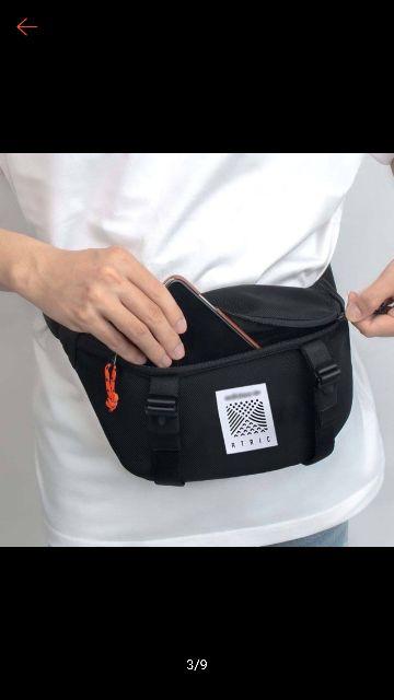 Túi đeo chéo Hông Atric ADD kiêm túi đeo bụng nam nữ Tin Tin - tui đeo TLTC0003