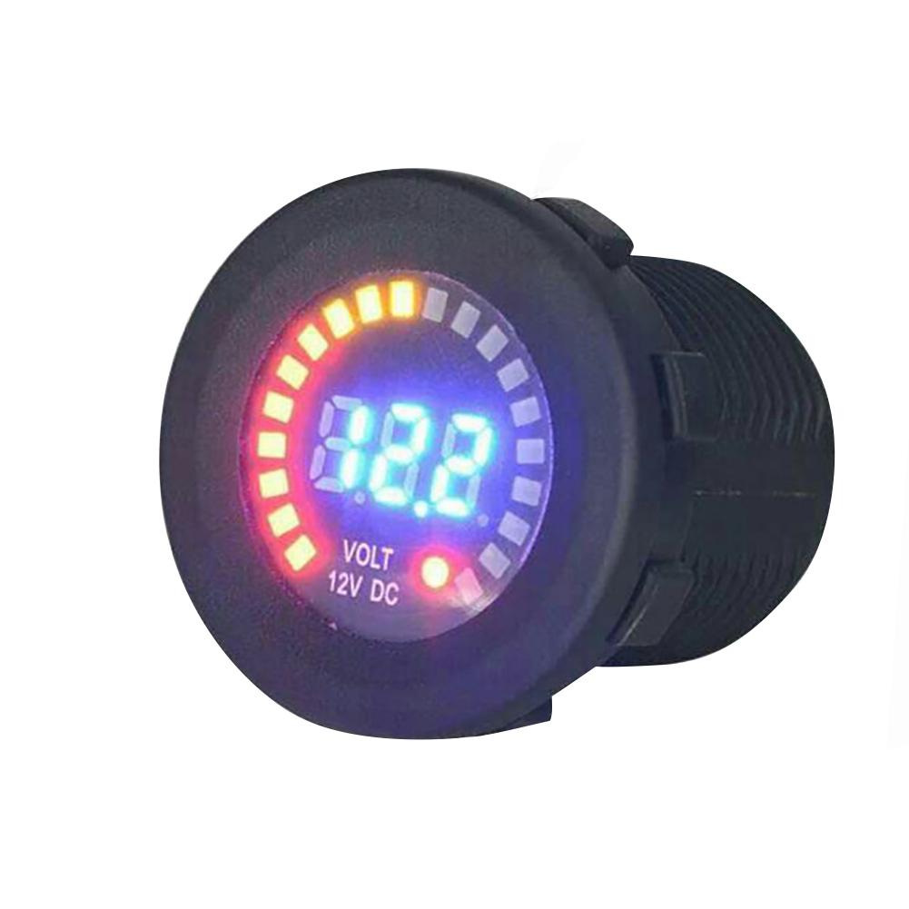 12 V Portable Car Motorcycle Waterproof Led Plug-In Universal Digital Display Voltmeter