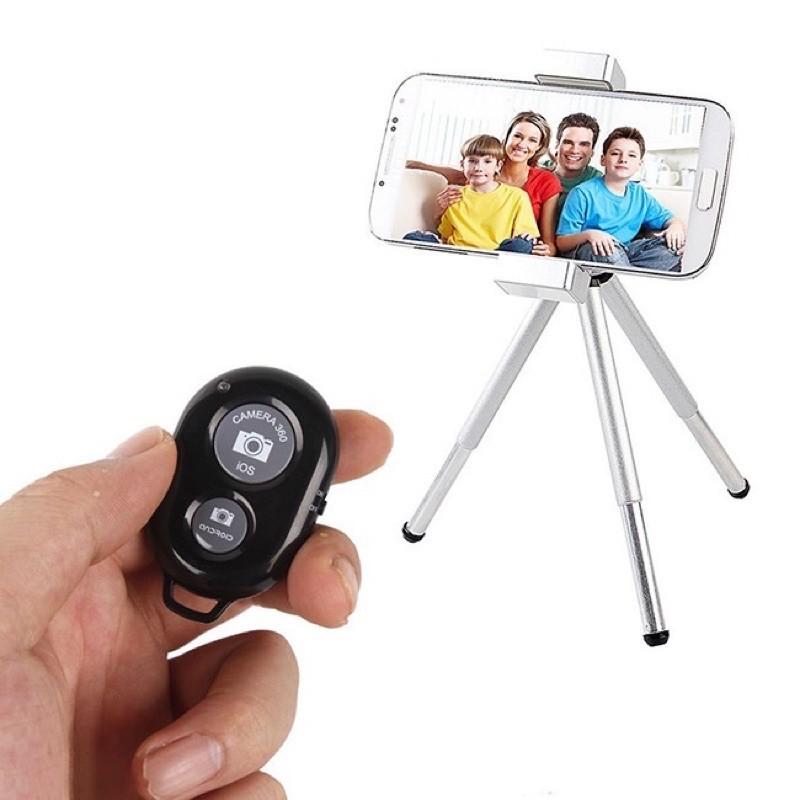 Remote chụp ảnh cho điện thoại Bluetooth Shutter (Màu Đen)