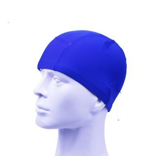 Mũ bơi PU mềm mại co dãn tốt nhanh khô dành cho đi bơi đi biển - Mã B01 thumbnail