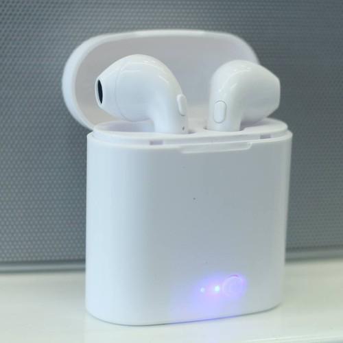 Tai nghe nhét tai không dây Bluetooth I7s thiết kế nhỏ gọn, tiện lợi, âm thanh cực chất