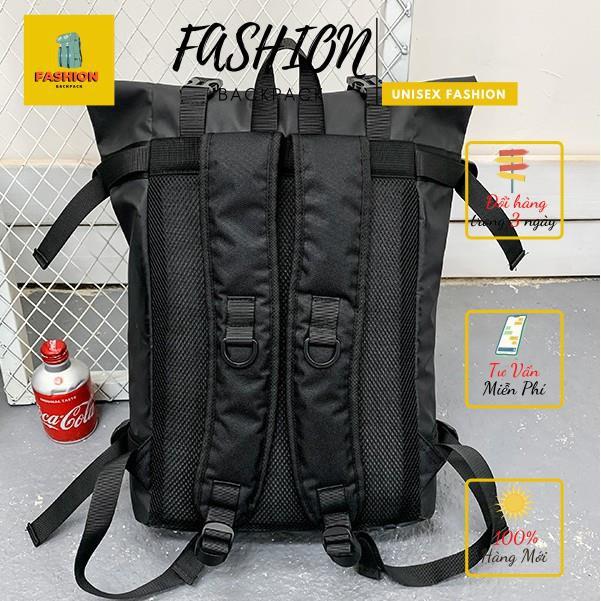 Balo Ulzzang Basic Balo Chống Thấm Balo Thời trang Fashion Backpack 💎 Balo đựng vừa laptop 15.6in-Chính hãng phân phối...