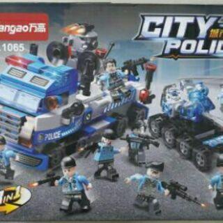 Bộ lego cảnh sát 16 hộp