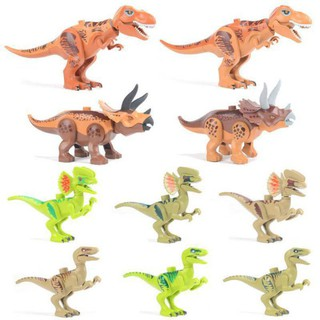 DIY sembly Simulate Dinosaurs Toy Interactive Building Blocks Toy Educational