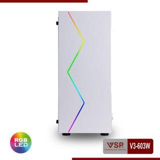 Vỏ Case Máy Tính VSP V3-603W White (Màu Trắng) - Hàng Chính Hãng NEW thumbnail