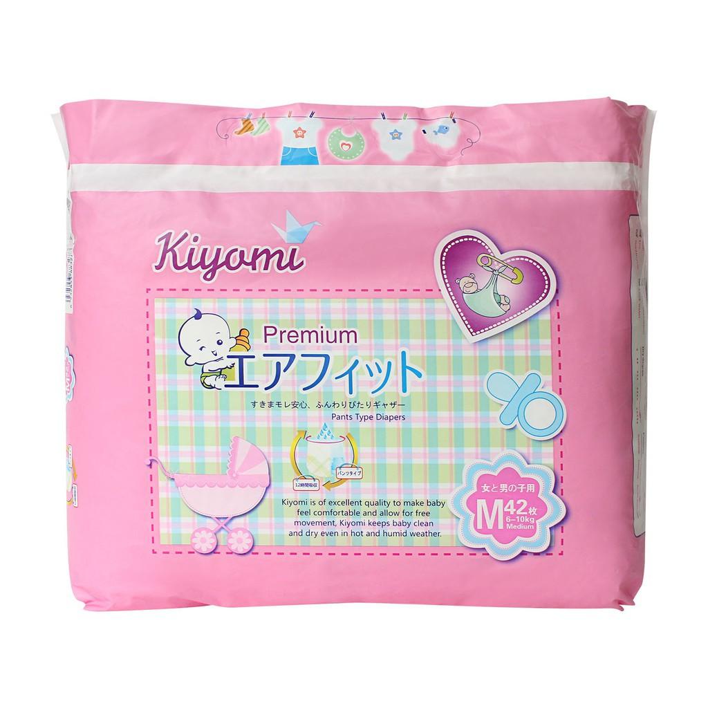 Tã/Bỉm quần Kiyomi Premium size M42/L36/XL32 - 3610488 , 1319368930 , 322_1319368930 , 320000 , Ta-Bim-quan-Kiyomi-Premium-size-M42-L36-XL32-322_1319368930 , shopee.vn , Tã/Bỉm quần Kiyomi Premium size M42/L36/XL32