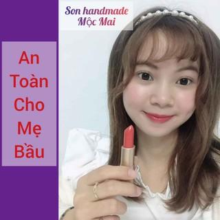 [Cam Kết Không Chì] Son Dưỡng Môi Handmade Dành Cho Bà Bầu (An Toàn Tuyệt Đối) thumbnail