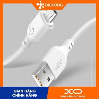 Cáp XO - NB103 1M và 2M Chân Lightning Micro TypeC dây cao su chống cháy (BẢO HÀNH 12 THÁNG) thumbnail
