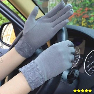 Găng tay chống nắng Nữ, chống tia UV, ngăn nắng, chống gió, chống rét thumbnail